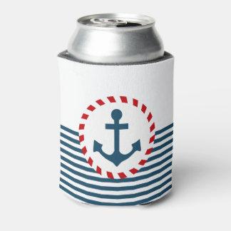 Nautical design can cooler