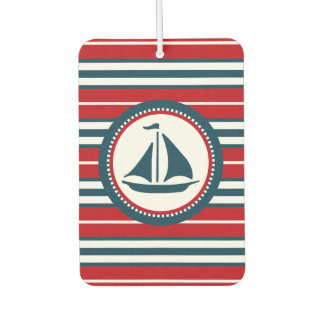 Nautical design car air freshener