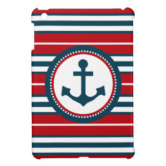 Nautical design case for the iPad mini