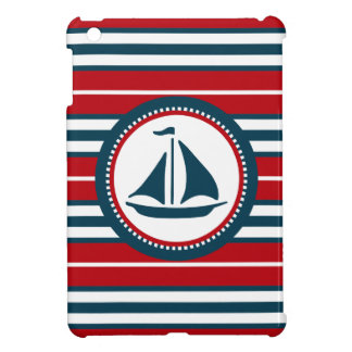 Nautical design case for the iPad mini