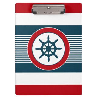 Nautical design clipboard