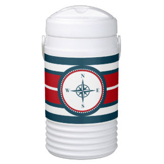 Nautical design cooler
