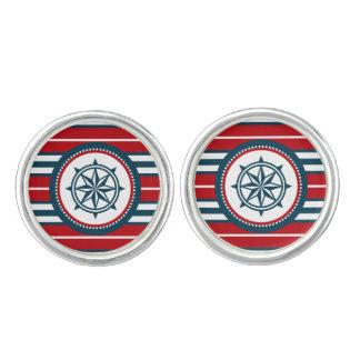 Nautical design cufflinks