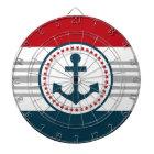 Nautical design dartboard