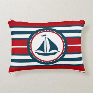 Nautical design decorative pillow