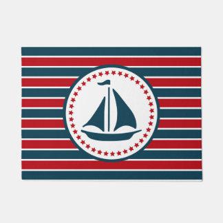 Nautical design doormat