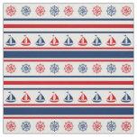 Nautical design fabric