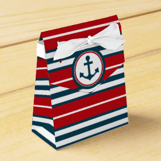 Nautical design favor box