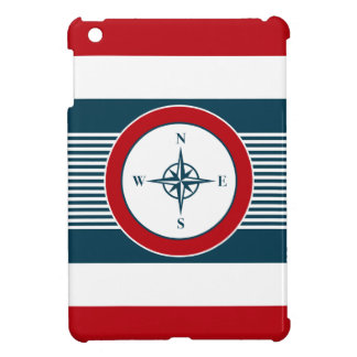 Nautical design iPad mini case