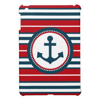 Nautical design iPad mini cover