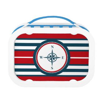 Nautical design lunch box