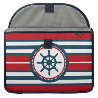 Nautical design MacBook pro sleeve
