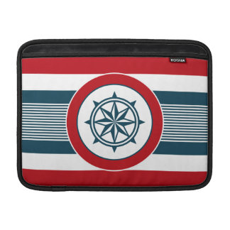 Nautical design MacBook sleeve