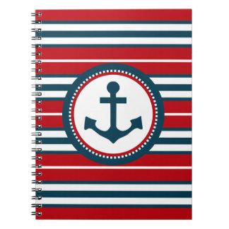 Nautical design notebooks