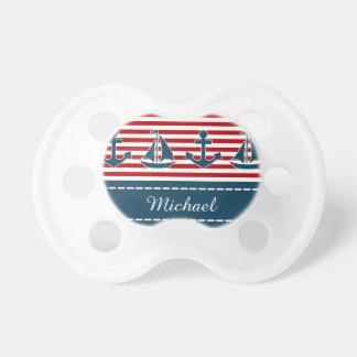 Nautical design pacifier