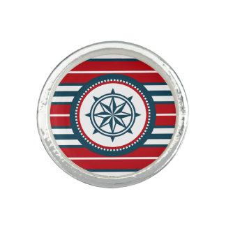 Nautical design photo rings
