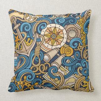 Nautical Design Pillow