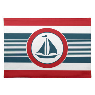 Nautical design placemat