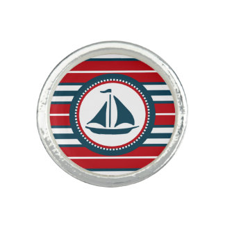 Nautical design ring