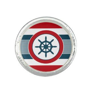 Nautical design rings