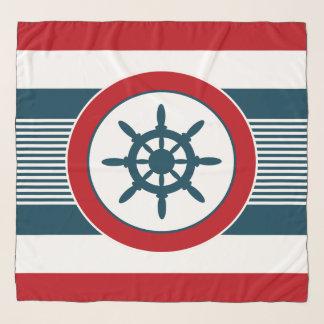 Nautical design scarf