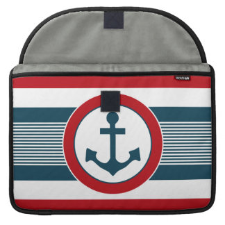 Nautical design sleeve for MacBooks