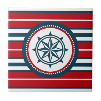 Nautical design tile