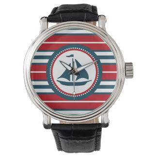 Nautical design watch