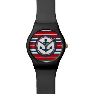 Nautical design wrist watches