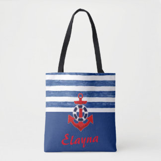 Nautical Elayna from SLV  inspired tote bag