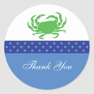 Nautical Favor Sticker