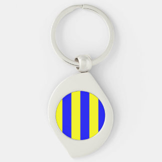 Nautical Flag Letter G (Golf) Keychain