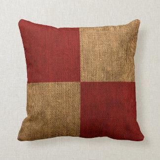Nautical Flag Letter U Signal Throw Pillow