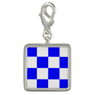 "Nautical Flag Signal Code Letter N ""November"" Charms"