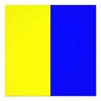 Nautical Flag Signal Kilo Letter K Card