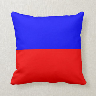 Nautical Flag Signal Letter E (Echo) Throw Pillow
