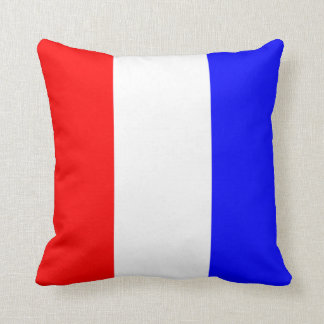 Nautical Flag Signal Letter T Tango Throw Pillow