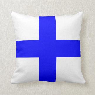 Nautical Flag Signal Letter X Xray Throw Pillow
