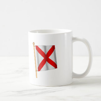 Nautical Flag 'V' Coffee Mug