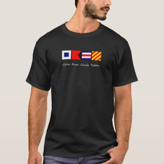 Nautical Flags - Dark Shirts