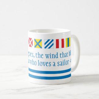 Nautical Flags Maritime Signals Nautical Toast Mug