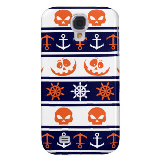 Nautical Halloween pattern