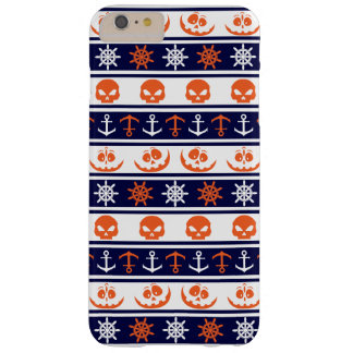 Nautical Halloween pattern Barely There iPhone 6 Plus Case