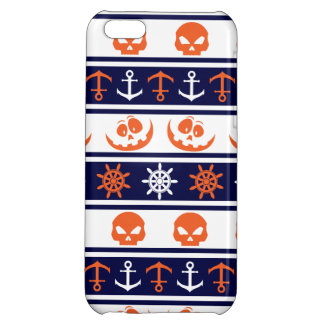 Nautical Halloween pattern Cover For iPhone 5C
