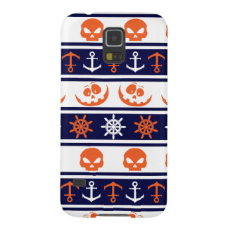 Nautical Halloween pattern Galaxy S5 Cover