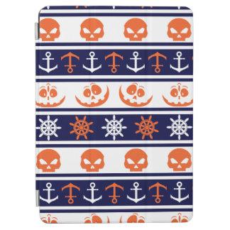 Nautical Halloween pattern iPad Air Cover