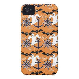 Nautical Halloween pattern iPhone 4 Case
