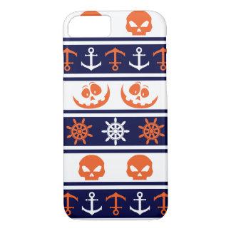 Nautical Halloween pattern iPhone 8/7 Case