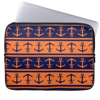 Nautical Halloween pattern Laptop Sleeve