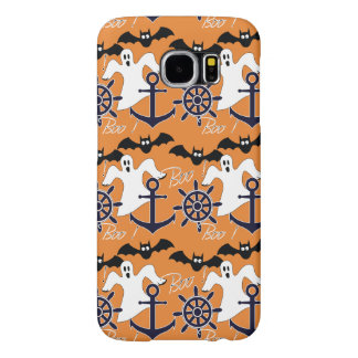 Nautical Halloween pattern Samsung Galaxy S6 Cases